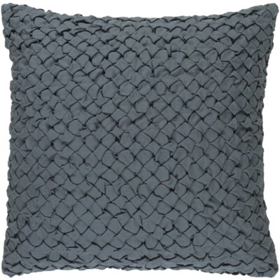 Riverton Linen Throw Pillow Size: 22 H x 22 W x 4 D, Color: Moss