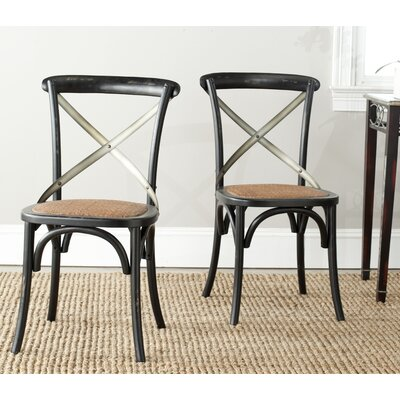 Argyle Solid Wood Dining Chair Finish: Hickory