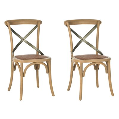 Argyle Solid Wood Dining Chair Finish: Weathered Oak