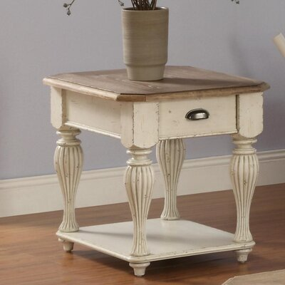 Quevillon Rectangular End Table