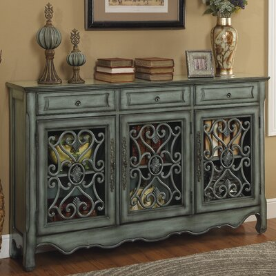 Bowdon 3 Drawer 3 Door Sideboard