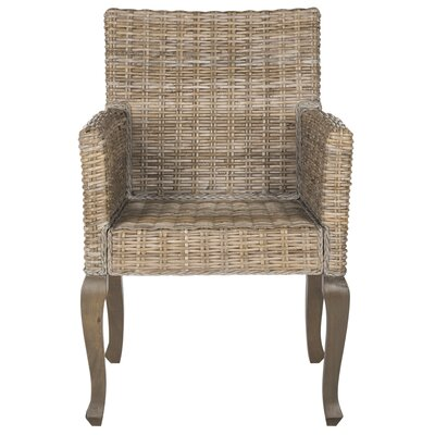 Amaranth Solid Wood Dining Chair Finish: Natural