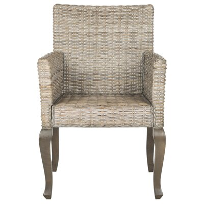 Amaranth Solid Wood Dining Chair Finish: White Washed