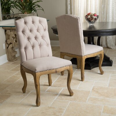 Armstead Tufted Parsons Chair