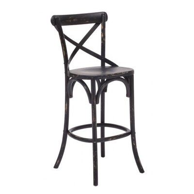 Scotia Bluff 30 Bar Stool Color: White