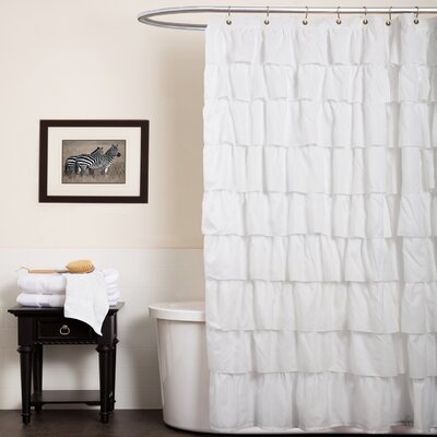 Marouane Ruffle Shower Curtain