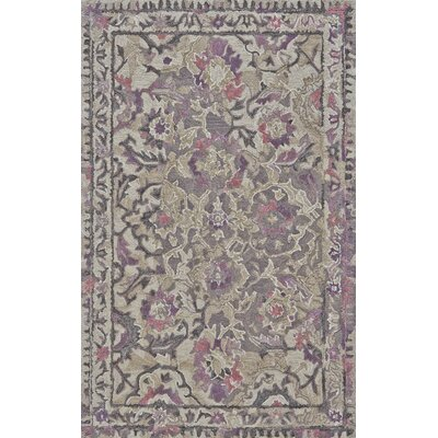 Harrison Hand Tufted Wisteria Area Rug Rug Size: Rectangle 96 x 136