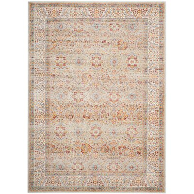 Shady Dale Silver/Ivory Area Rug Rug Size: Rectangle 21 x 4