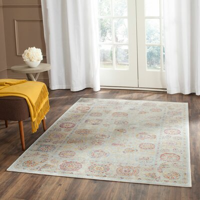 Shady Dale Silver Area Rug Rug Size: Rectangle 53 x 76