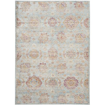 Shady Dale Blue Area Rug Rug Size: Rectangle 53 x 76
