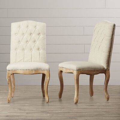 Bernadine Tufted Parsons Chair