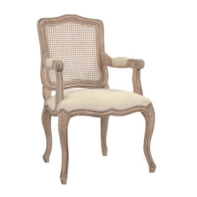 Langlois Arm Chair Finish: Natural