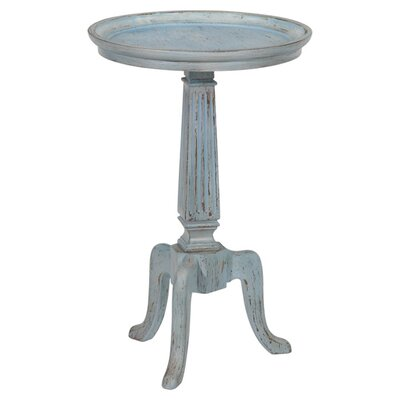 Souliere End Table Finish: Distressed Driftwood Blue