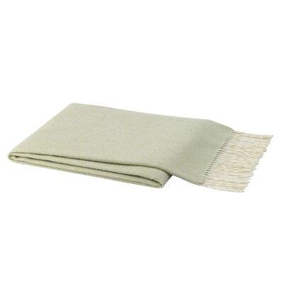 Normandin Capri Tweed Throw Color: Lichen