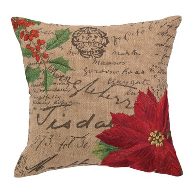 Diane Burlap Wool Throw Pillow
