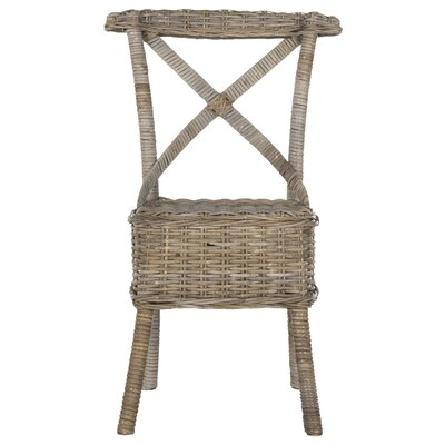 Baleine Solid Wood Dining Chair Finish: Gray