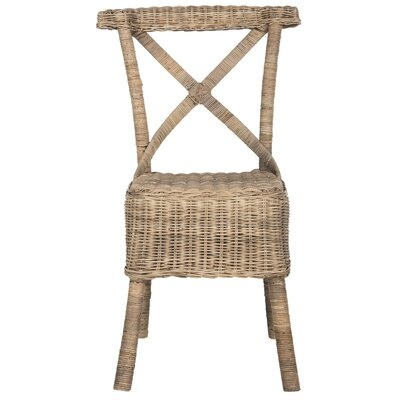 Baleine Solid Wood Dining Chair Finish: Natural
