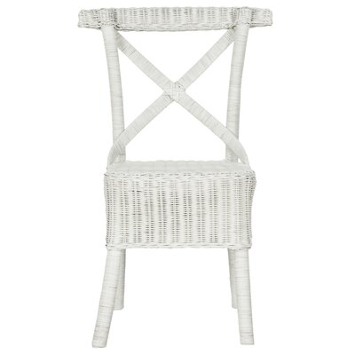 Baleine Solid Wood Dining Chair Finish: White