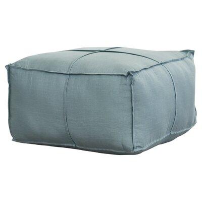 Vozelle Pouf Upholstery: Sky Blue