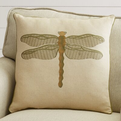 Lida Dragonfly Throw Pillow