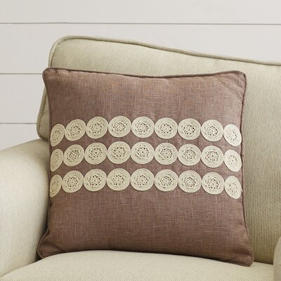 Marion Throw Pillow Size: 22