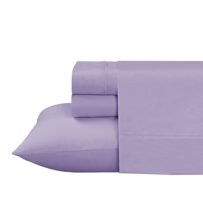 Roulier 300 Thread Count Sheet Set Color: Lilac, Size: Twin