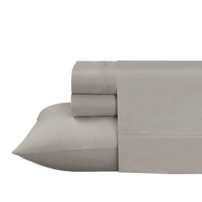 Roulier 300 Thread Count Sheet Set Size: Twin, Color: Taupe