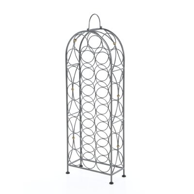 Bauerle 23 Bottle Floor Wine Rack