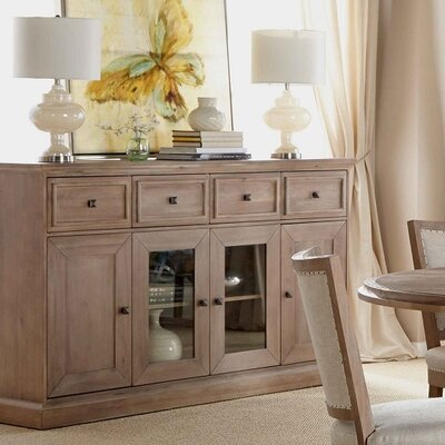 Parfondeval Sideboard Color: Distressed Stone Wash