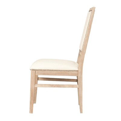 Parfondeval Wood Frame Side Chair (Set of 2) Finish: Stone Wash