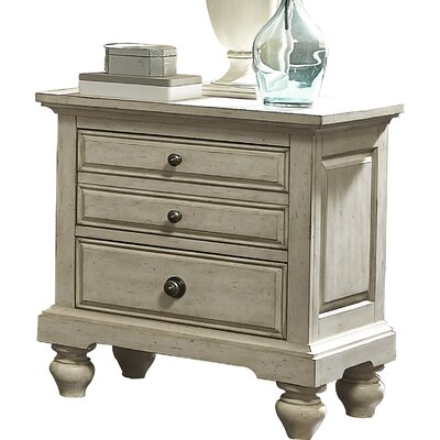 Philomena 2 Drawer Nightstand