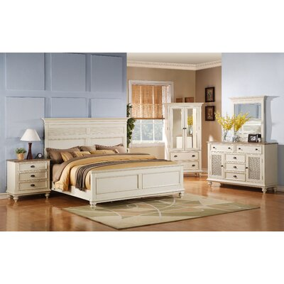 Quevillon Traditional Panel Configurable Bedroom Set