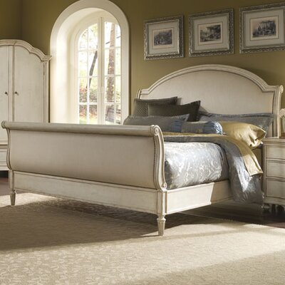 Daniella Upholstered Sleigh Bed Size: King