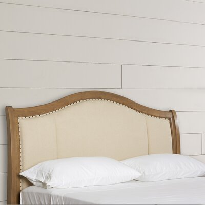 Quevillon Upholstered Panel Headboard Size: King