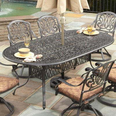 Sudie Dining Table Finish: Charcoal