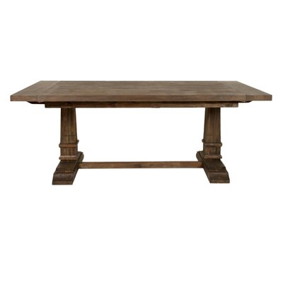 Parfondeval Extension Dining Table Finish: Rustic Java