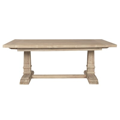Parfondeval Extension Dining Table Finish: Stone Wash