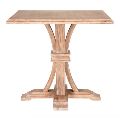 Parfondeval Square Counter Height Dining Table Finish: Stone Wash