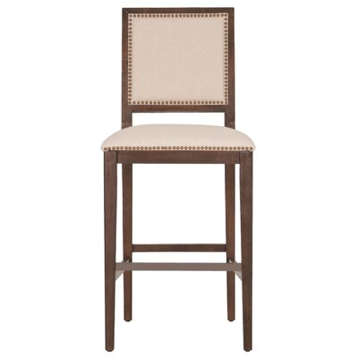 Montcerf 30 Bar Stool (Set of 2) Finish: Rustic Java