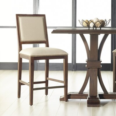 Parfondeval 26 Bar Stool (Set of 2) Finish: Rustic Java