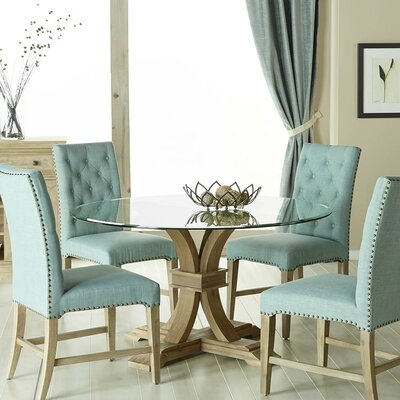Parfondeval 5 Piece Upholstered Dining Set