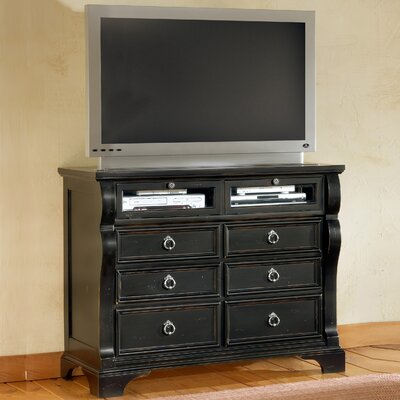 Edinburg 6 Drawer Media Chest