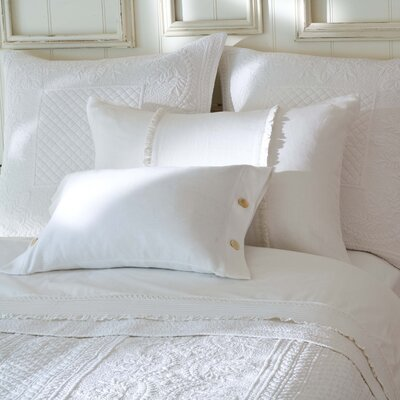 Irenee Duvet Cover Size: King, Color: White