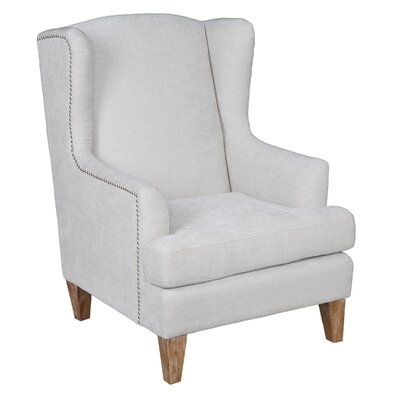Epine Wingback Chair Color: Natural