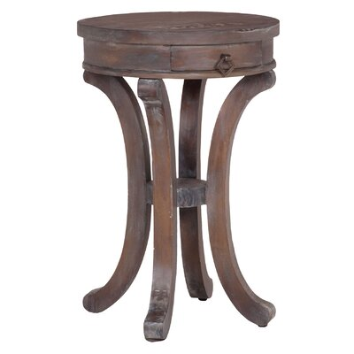 Laureole Mahogany End Table