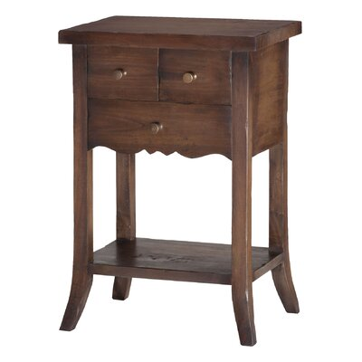 Dany 3 Drawer End Table