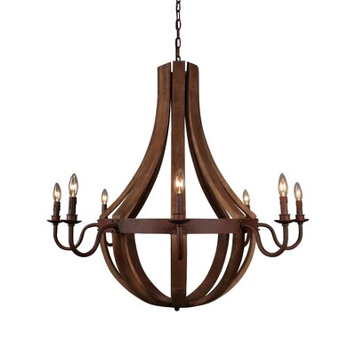 Bellevue 8-Light Candle-Style Chandelier