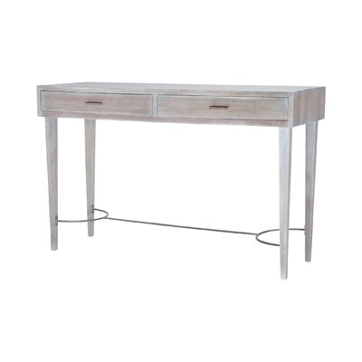 Leonard Stretcher Console Table
