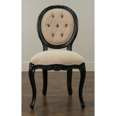 Hawthorne Side Chair Finish: Black