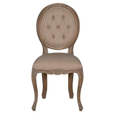 Hawthorne Side Chair Finish: Walnut